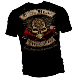 Elite Breed Firefighter T Shirt