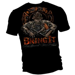 Bring It Firefighter T Shirt