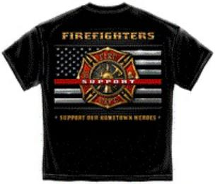Firefighter Supporters T Shirt