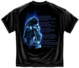 Firefighters Prayer T Shirt