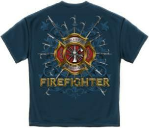 Firefighter Pikes T Shirt