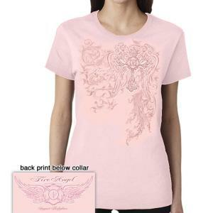 Fire Angel Pink T Shirt